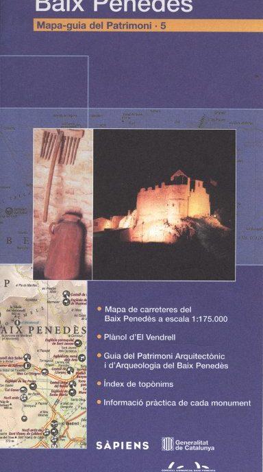 Venda online Mapa-Guia del patrimoni: Baix Penedès d'ocasió a bratac.cat