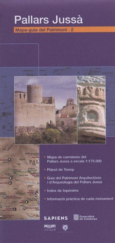 Venda online de Mapa-Guia del patrimoni: Pallars Jussà d'ocasió a bratac.cat