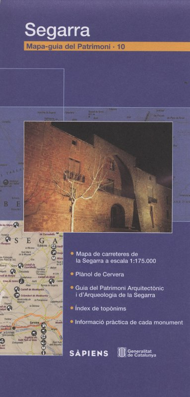Venda online de Mapa-guia del patrimoni: Segarra d'ocasió a bratac.cat