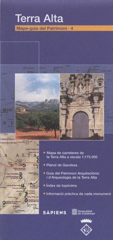 Venta online de Mapa-guia del patrimoni Terra Alta en bratac.cat