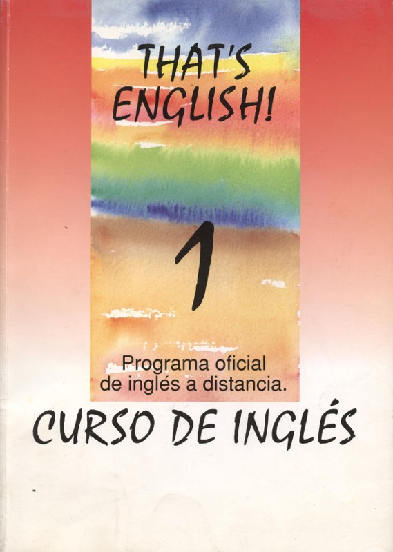Venda online de llibres d'ocasió com That's English 1 - Barry Tomalin i Susan Stempleski a bratac.cat