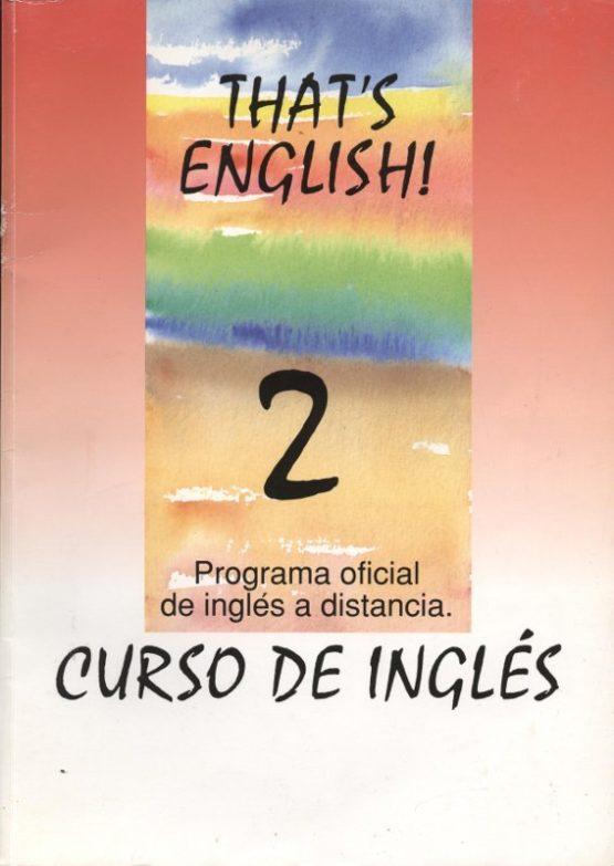 Venda online de llibres d'ocasió com That's english! 2 - Felicity Henderson i Janet Olearski a bratac.cat